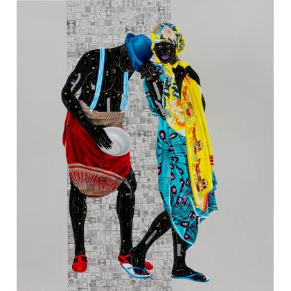 Eddy Kamuanga Ilunga, Fragile 2,  2018. Edition of 25.