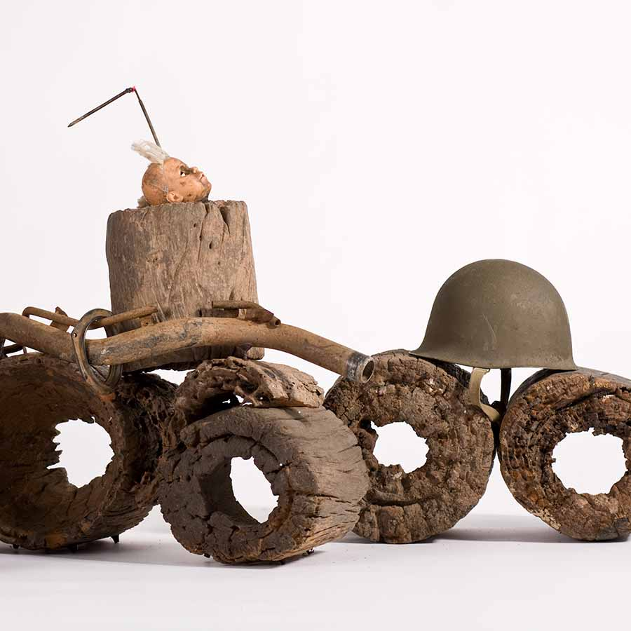 <strong>Gérard Quenum</strong>, <em>Dictateur</em> (detail), 2012.
