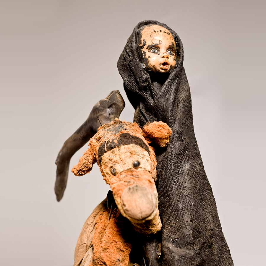 <strong>Gérard Quenum</strong>, <em>La Vendangeuse</em>, 2012.
