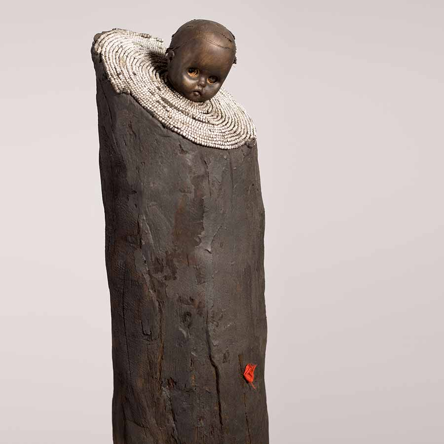 <strong>Gérard Quenum</strong>, <em>La bonne bergère (The Good Sheperdess)</em>, 2012.