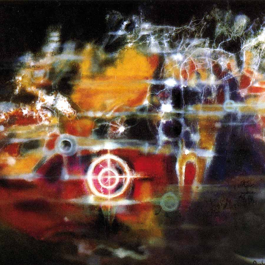 <strong>Aubrey Williams</strong>, <em>Nebulic Cluster</em> (Cosmos series - detail), 1985. Oil on canvas, 119 x 178 cm.