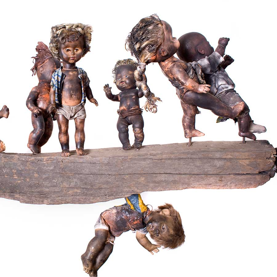 <strong>Gérard Quenum</strong>, <em>Clandestins (Stowaways)</em>, 2009.<br>