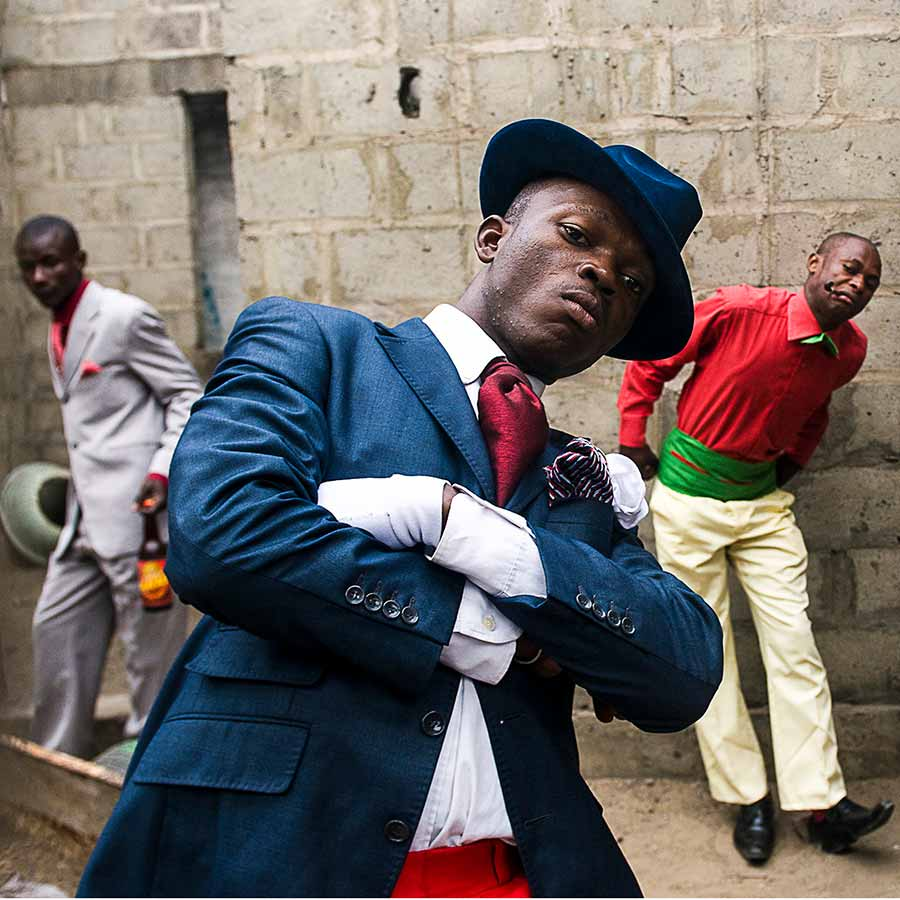 <strong>Daniele Tamagni</strong> (detail), <em>The Playboys of Bacongo</em>, 2008. Lambda c-print. 59 x 80 cm, ed. 10 + 2AP