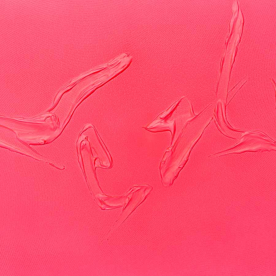 <strong>Tian Wei</strong>, <em>Sexy</em>, 2017. Fluorescent acrylic on canvas, 93  x 150 cm.